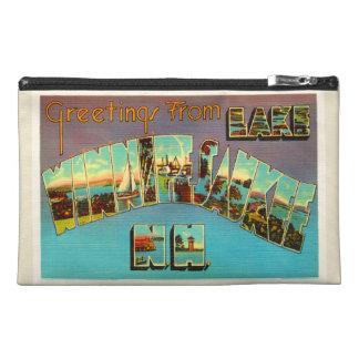 Lake Winnipesaukee New Hampshire Travel Souvenir Travel Accessory Bags