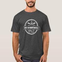 Lake Winnipesaukee NH custom town, name, anchor T-Shirt