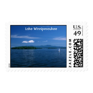 Lake Winnipesaukee Summer Day Postage