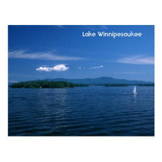 Lake Winnipesaukee Summer Day Postcard