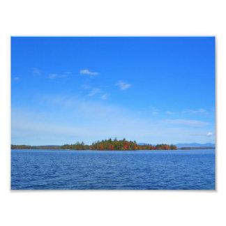 "Lake Winnipesaukee ""the Forties"" in Fall Photo"