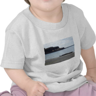 Lake with Cliffs and Dock Tshirt
