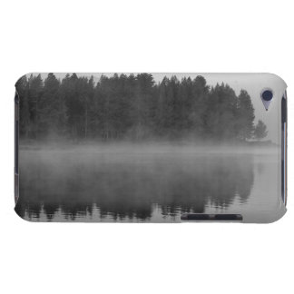 Lake with fog, Oregon Barely There iPod Cases
