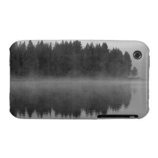 Lake with fog, Oregon Case-Mate iPhone 3 Case