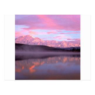 Lake Wonder Denali Denali Park Alaska Postcard