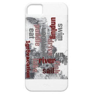 Lake Wordle iPhone SE/5/5s Case