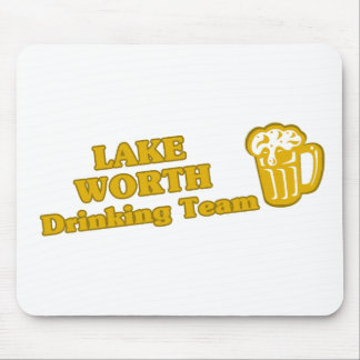 Lake Worth Drinking Team tee shirts Mouse Pads