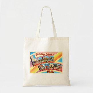 Lake Worth Florida FL Old Vintage Travel Souvenir Tote Bag