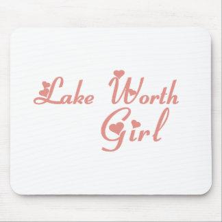 Lake Worth Girl tee shirts Mouse Pads