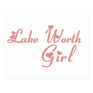 Lake Worth Girl tee shirts Post Card