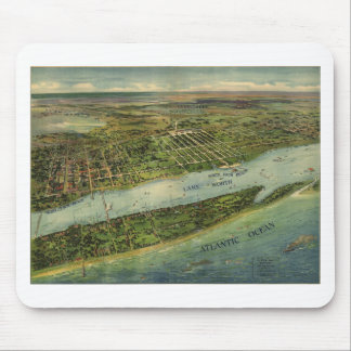 Lake Worth Palm Beach Florida in 1915 Mouse Pads