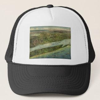 Lake Worth / Palm Beach Florida in 1915 Trucker Hat