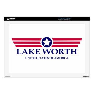 """Lake Worth Pride 17"""" Laptop Decal"""