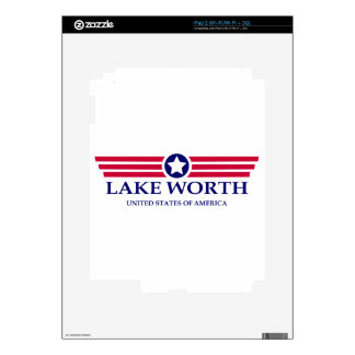 Lake Worth Pride Decal For The iPad 2