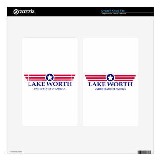 Lake Worth Pride Skin For Kindle Fire