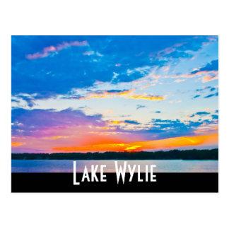 Lake Wylie sunset Postcard