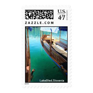 LakeBled,Slovenia Postage