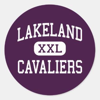 Lakeland - Cavaliers - High - Suffolk Virginia Round Sticker