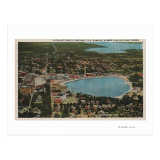 Lakeland, Florida - Aerial City View Showing Postcard