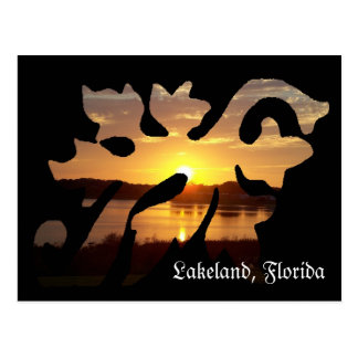 Lakeland Florida Leaf Post Card