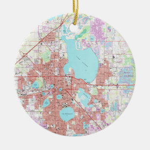 Lakeland Florida Map.Lakeland Florida Map Gifts On Zazzle
