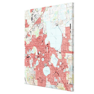 Lakeland Florida Map.Lakeland Fl Map Gifts On Zazzle