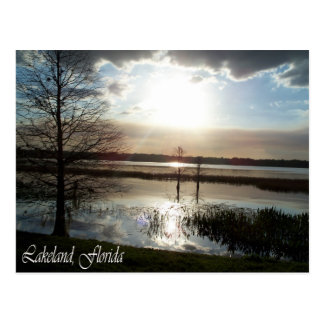 Lakeland Florida Sunset    012 Post Card