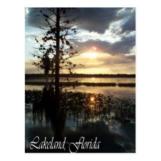 Lakeland Florida Sunset     095 Post Cards