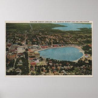 Lakeland, la Florida - demostración aérea de la op Póster