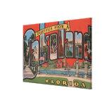 Lakeland, la Florida - escenas grandes de la letra Lona Envuelta Para Galerías
