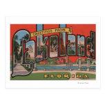 Lakeland, la Florida - escenas grandes de la letra Postales