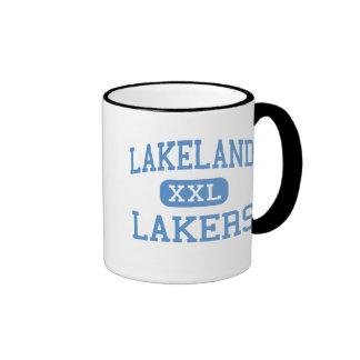 Lakeland - Lakers - High School - LaGrange Indiana Ringer Coffee Mug