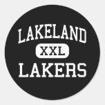 Lakeland - Lakers - High School secundaria - Lagra Pegatina