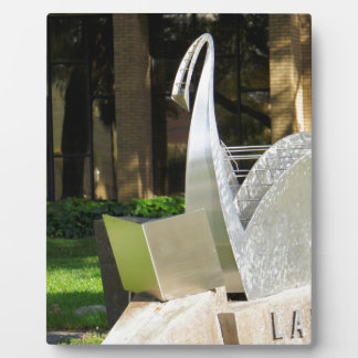 Lakeland Library Plaque