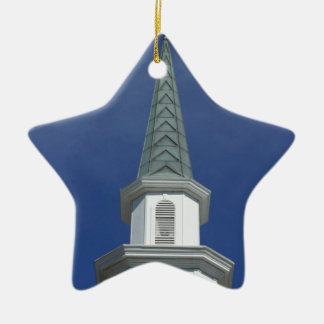 Lakeland Steeple Ceramic Ornament
