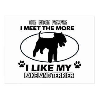 Lakeland Terrier designs and gifts Postcard