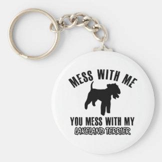 Lakeland Terrier designs Keychain