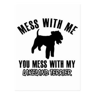 Lakeland Terrier designs Postcard