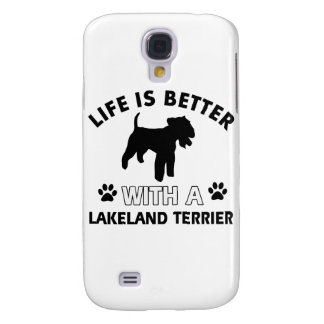 Lakeland Terrier Dog breed designs Galaxy S4 Cover