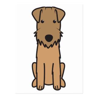 Lakeland Terrier Dog Cartoon Postcard