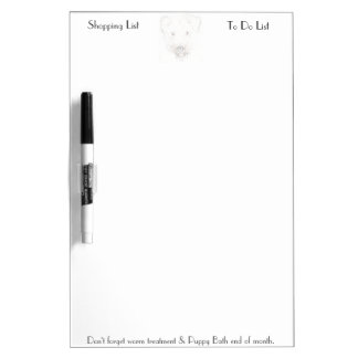 Lakeland terrier Memo Board Dry-Erase Board