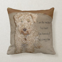 Lakeland terrier Pillow