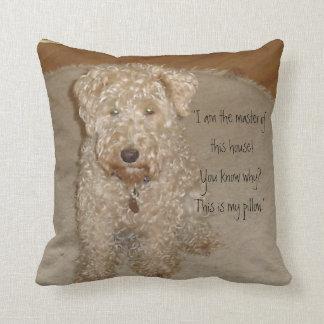 Lakeland terrier Pillow
