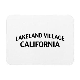 Lakeland Village California Magnet