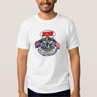 Lakenheath Rod y camiseta de la reunión del club Playeras