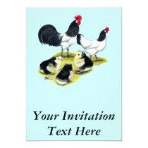 Lakenvelder Chicken Family Invitation