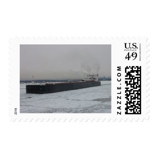 Laker in the ice postage