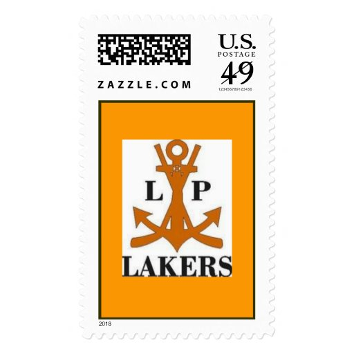 Lakers 96 AA Postage Stamp