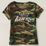 LAKERS ARE FOR LOVERS CAMO TEE