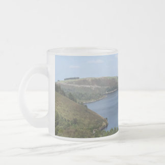 LAKES FROSTED GLASS COFFEE MUG